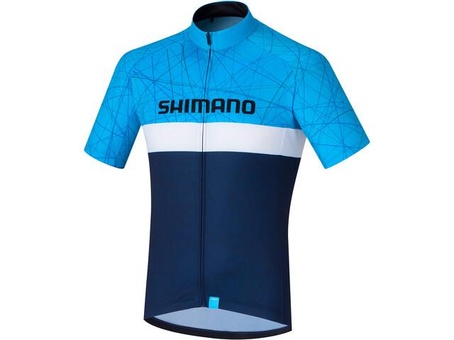 Shimano Team Pyöräilypaita Miehet, navy